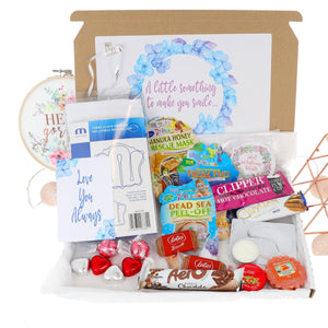Chocolate Lover Pamper Filled Large Treat Box - Always Looking Good UK