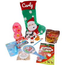 Load image into Gallery viewer, Kids Personalised Christmas Eve Filled Christmas Santa Stocking - Always Looking Good UK