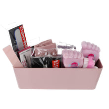 Load image into Gallery viewer, Personalised Pink Pamper Large Foot Caddy