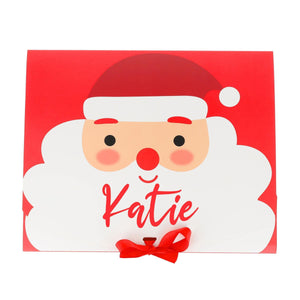 Personalised Christmas Box Fun for Families/Children Filled with Treats and Christmas Activities