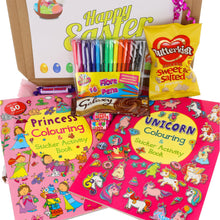 Load image into Gallery viewer, Unicorn & Princess Colouring Fun Kids Gift Set