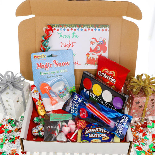 Kids Christmas Activity and Sweets Box - Always Looking Good UK