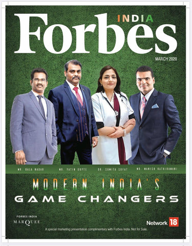 Forbes India Game Changer - Ajjay Mehrra