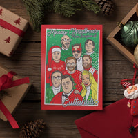 Cultaholic Christmas cards - pack of three designs