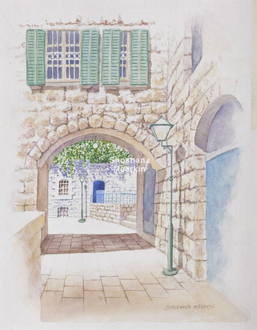 Around the Corner, Safed.