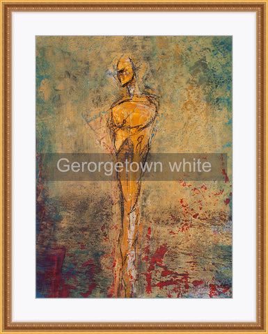 Framed - Georgetown white mat