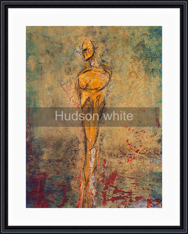 Framed - Hudson white mat