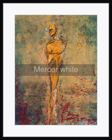 Framed - Mercer white mat