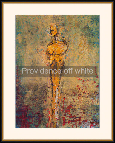 Framed - Providence off white mat