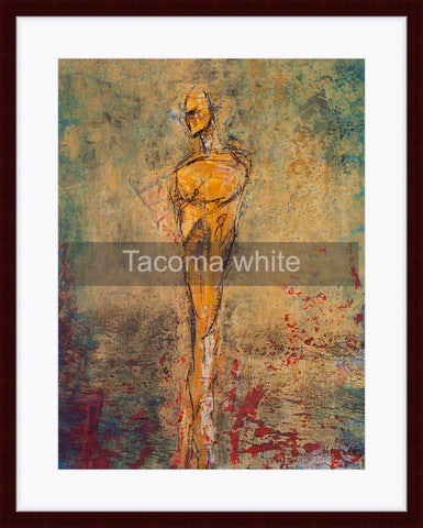 Framed - Tacoma white mat