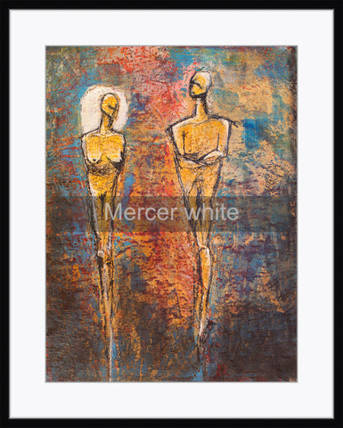 Frame - Mercer white