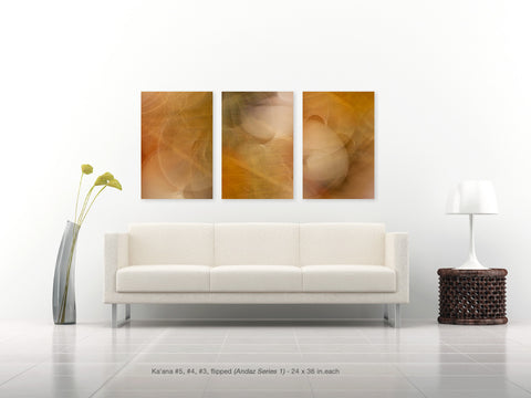 Kaʻana Triptych #5, #4 and #3