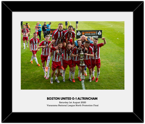Trophy Celebrations Print - Signed