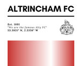 AFC 1891 Co-ordinates Mug