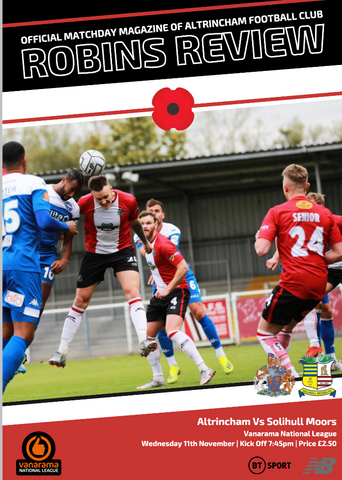 Robins Review | Alty v Solihull Moors | November 11th 2020