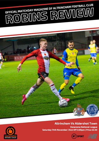 Robins Review | Alty v Aldershot Town | November 14th 2020