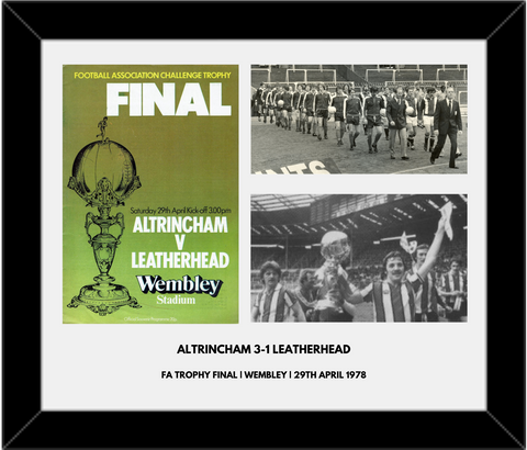 Wembley 78 Framed Print