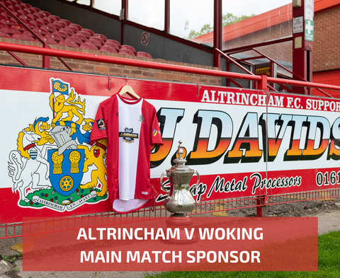 Main Match Sponsorship - Woking