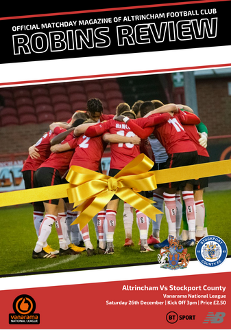 Robins Review | Altrincham v Stockport County | December 26th 2020
