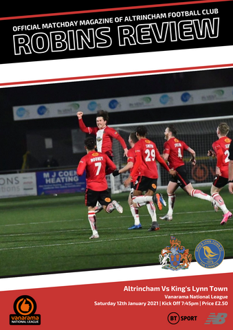 Robins Review | Altrincham v King's Lynn Town | Jan 12th 2021