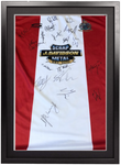 Framed Home Shirt - Signed by 2020/21 Squad