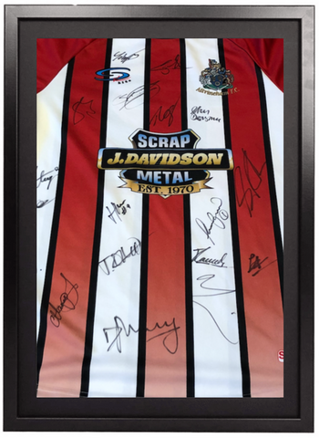 Signed & Framed Home Shirt - 2019/20 Promotion Winners