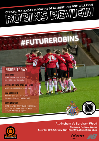 Robins Review | Altrincham v Boreham Wood | February 20th 2021