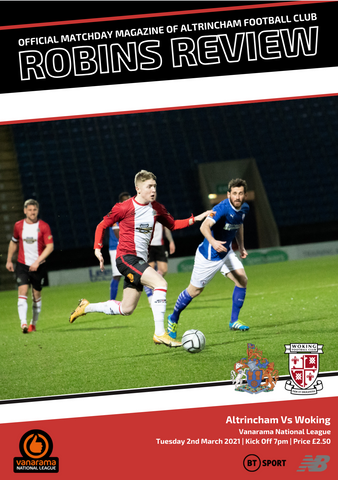 Robins Review (Digital) | Altrincham v Woking | March 2nd 2021
