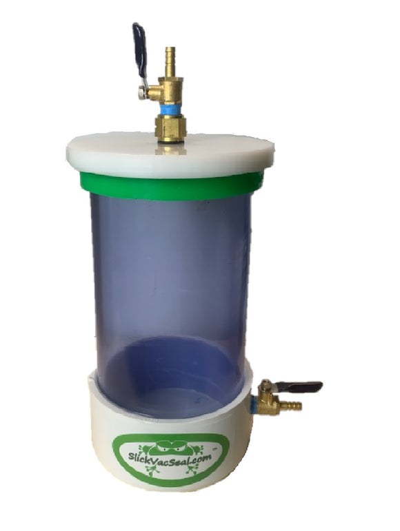 Open Pump Damage Preventer/Resin Trap/Vacuum Chamber