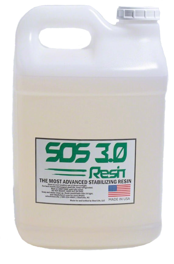 SOS 3.0 Wood Stabilizing Resin( Free Shipping,  US Only)