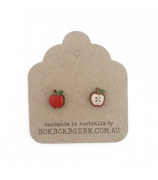 Bok Bok B'Gerk Enamel Stud Earrings