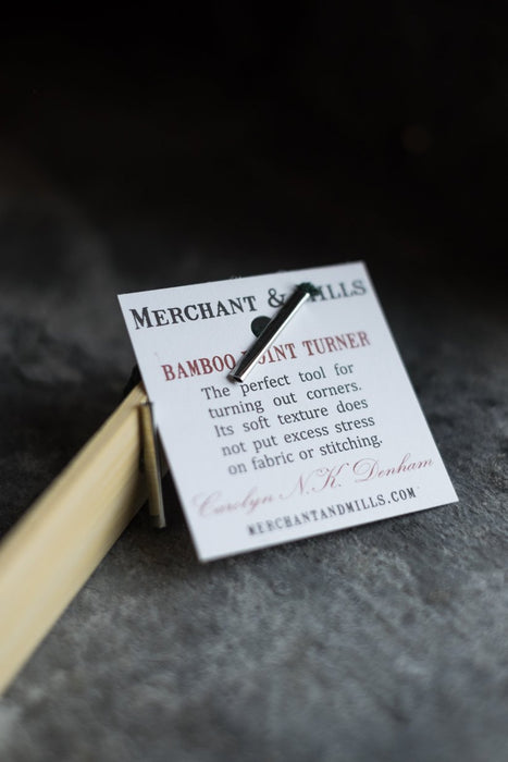 Bamboo Point Turner- Merchant & Mills