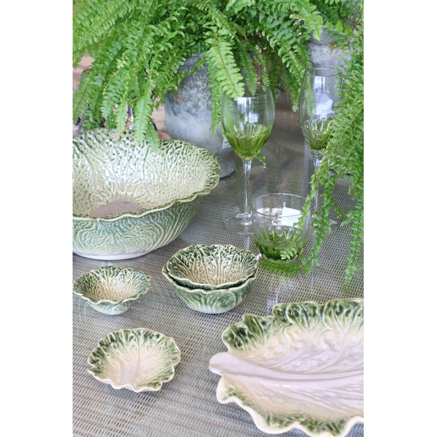 Nesting China Cabbage Bowls- Set of 3