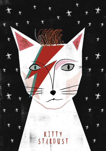 Card- Kitty Stardust