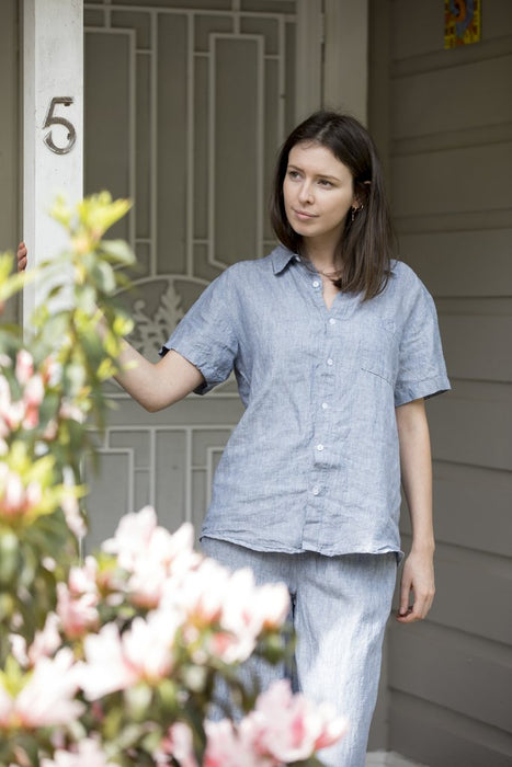 Lazy Linen Shirt- 3 Colours