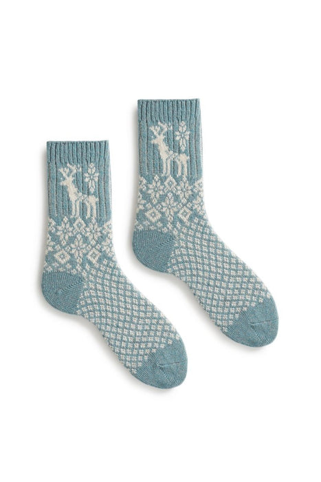 Women's Reindeer Wool Cashmere Socks