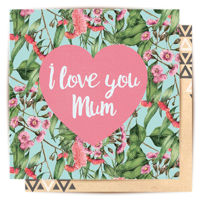 Mini Card- I love Mum