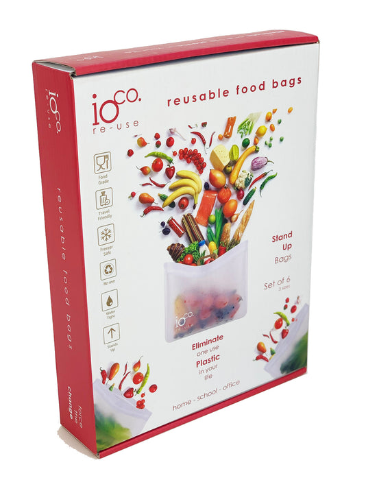 Reusable Food Bags-Stand Up Bags- IOco