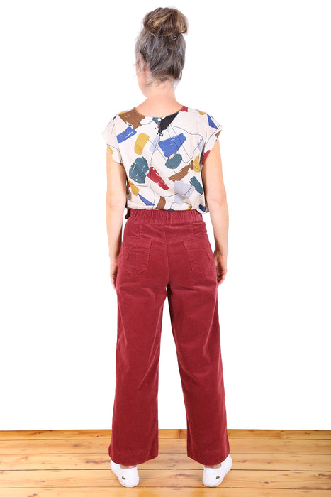 Peggy Cord Pants- Assorted colours