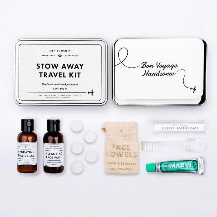 Men's Society- Stow Away Travel Kit