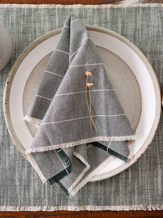 Wild Stripe Napkins- Set of 4