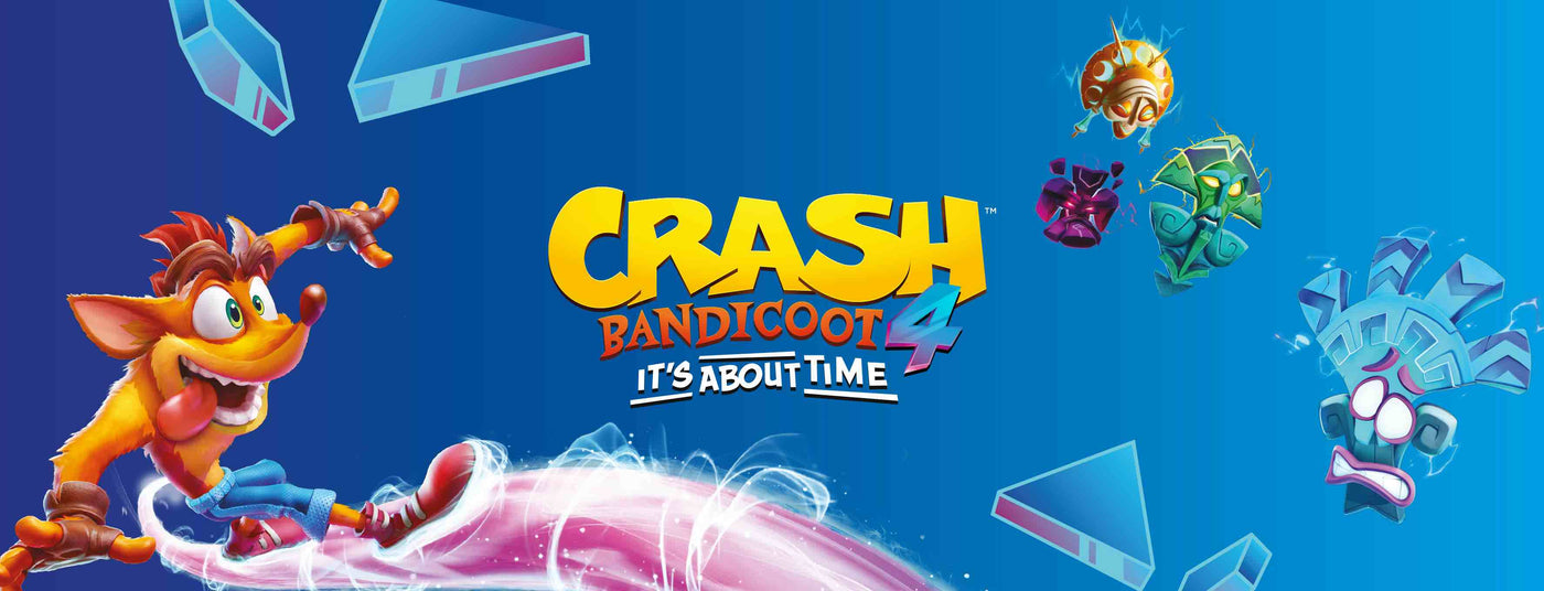 Crash Bandicoot 4 Merchandise Collection Banner