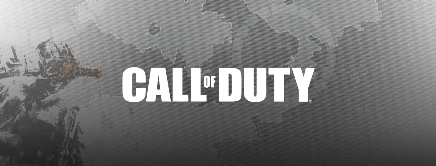 Call of Duty Merchandise Collection Banner