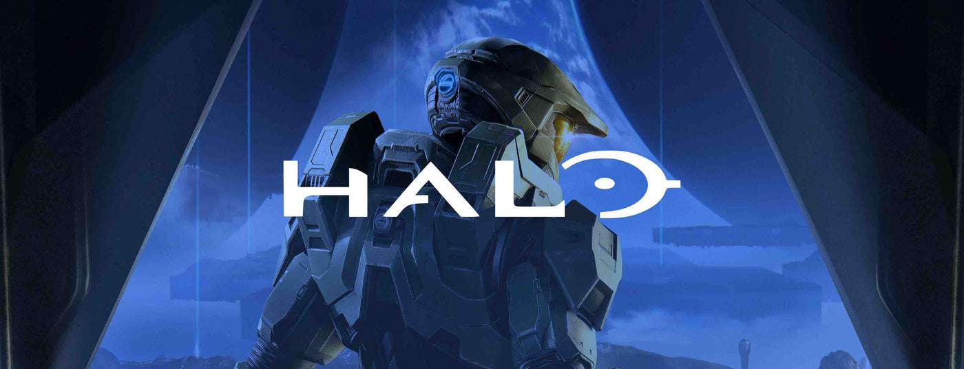 Halo Merchandise Collection Banner