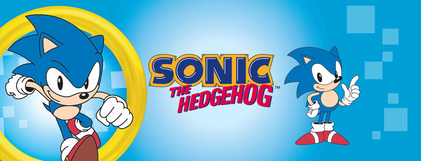 Sonic the Hedgehog Merchandise Collection Banner