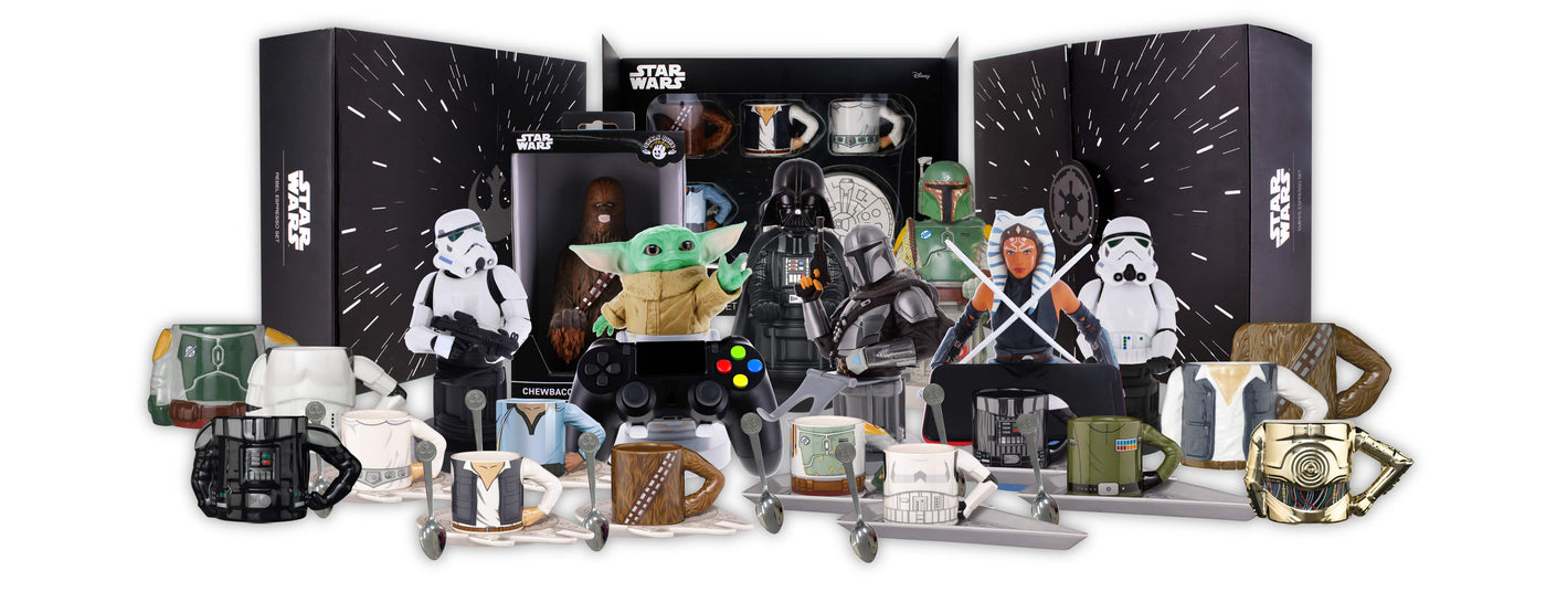 Star Wars Merchandise Collection Banner