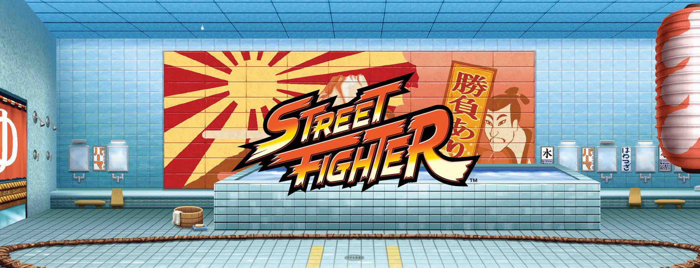 Street Fighter Merchandise Collection Banner