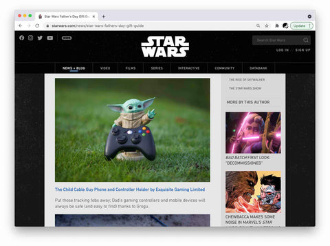 StarWars.com Feature The Child in Father's Day Gift Guide