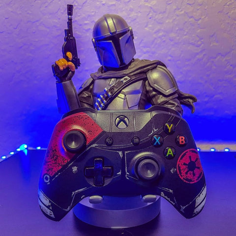 The Mandalorian Cable Guy with Controller
