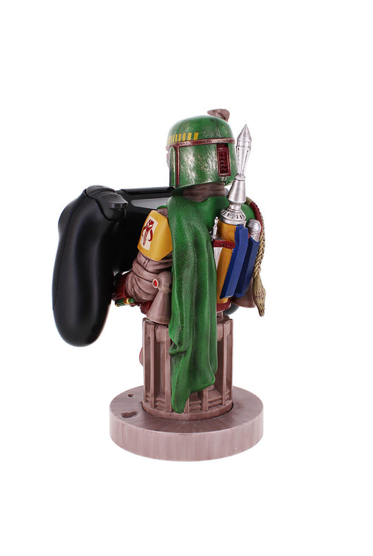 Boba Fett Cable Guy Holding Controller Rear Angle